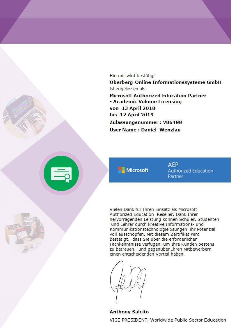 Microsoft Education Partner Im Bergischen Oberberg Online